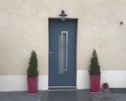 Porte alu - Neuville aux bois - Dezideo